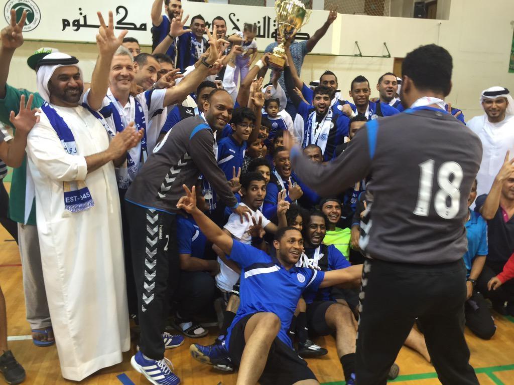 النصر الإماراتي بطلاً لكأس رئيس الدولة لكرة اليد