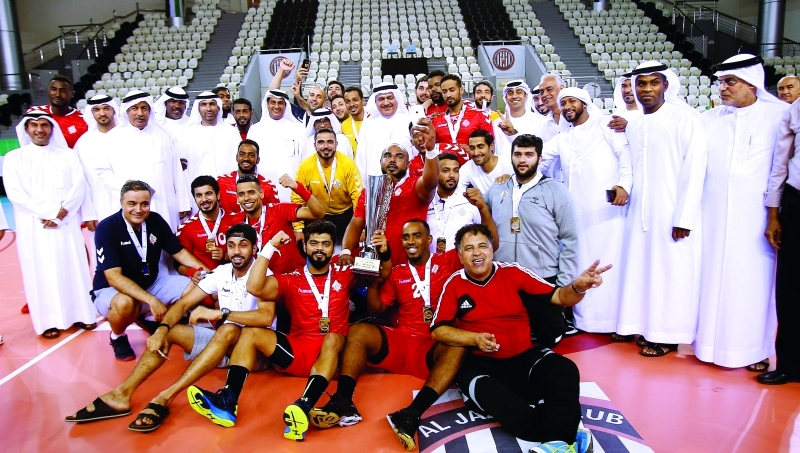 الملك الشرقاوي بطل كأس كرة اليد